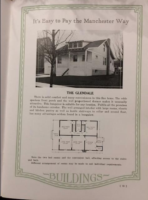 Manchester Buildings 1926 catalog: The Glendale model
