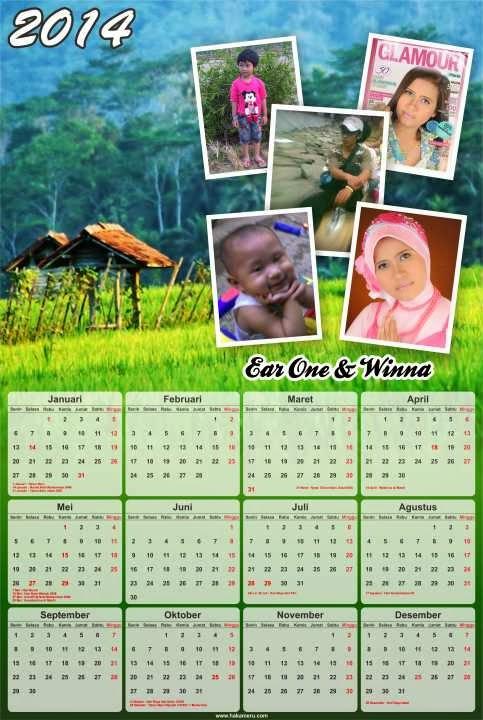 Jasa desain kalender online