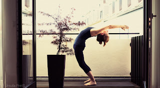 my yoga blog home practice today
