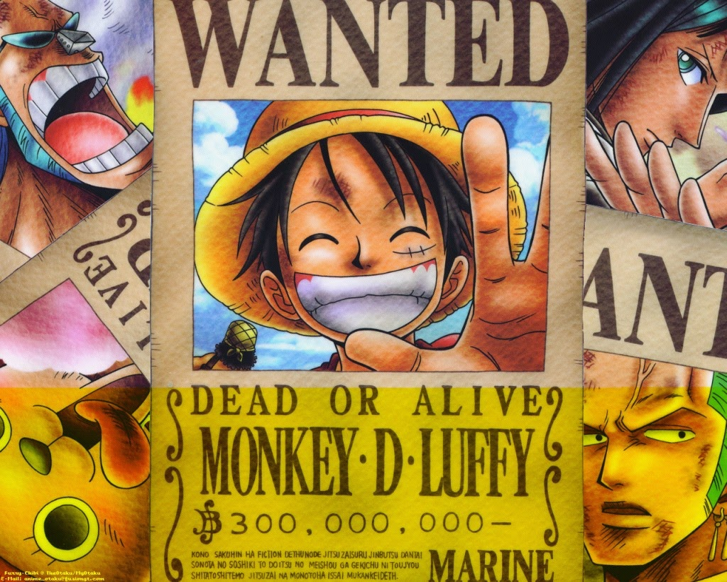 American Top Cartoons One Piece Luffy S Crew
