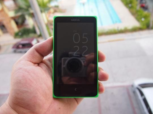 Nokia X Unboxing, Preview And Initial Impression Front