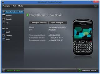 cara konek hp blackberry ke pc sebagai modem