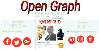 open graph facebook twitter googleplus