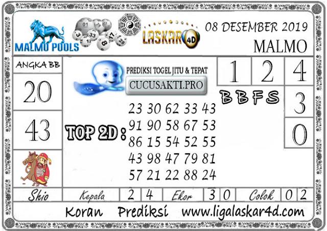 Prediksi Togel MALMO LASKAR4D 08 DESEMBER 2019