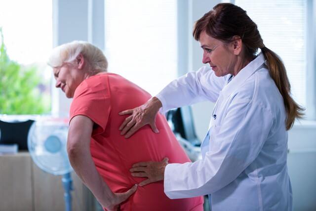 alivio del dolor con la fisioterapia