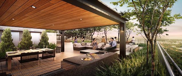 Robin Residences Dining Lounge