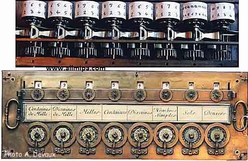 Gambar kalkulator pertama di dunia