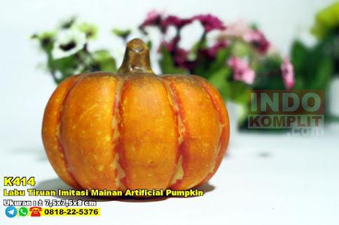 Labu Tiruan Imitasi Mainan Artificial Pumpkin