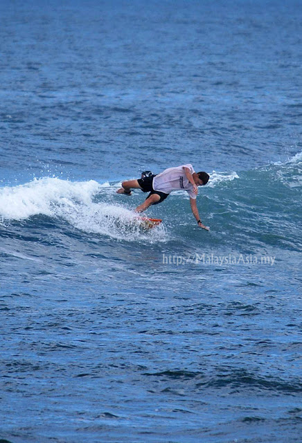 Canggu Surfing Photo