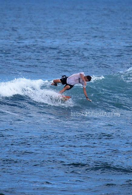Canggu Surfing Photo