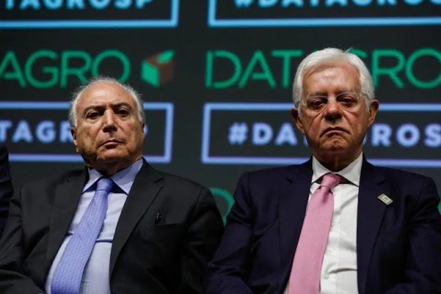 BRASIL-Força-tarefa da Lava Jato prende Michel Temer, ex-presidente do Brasil