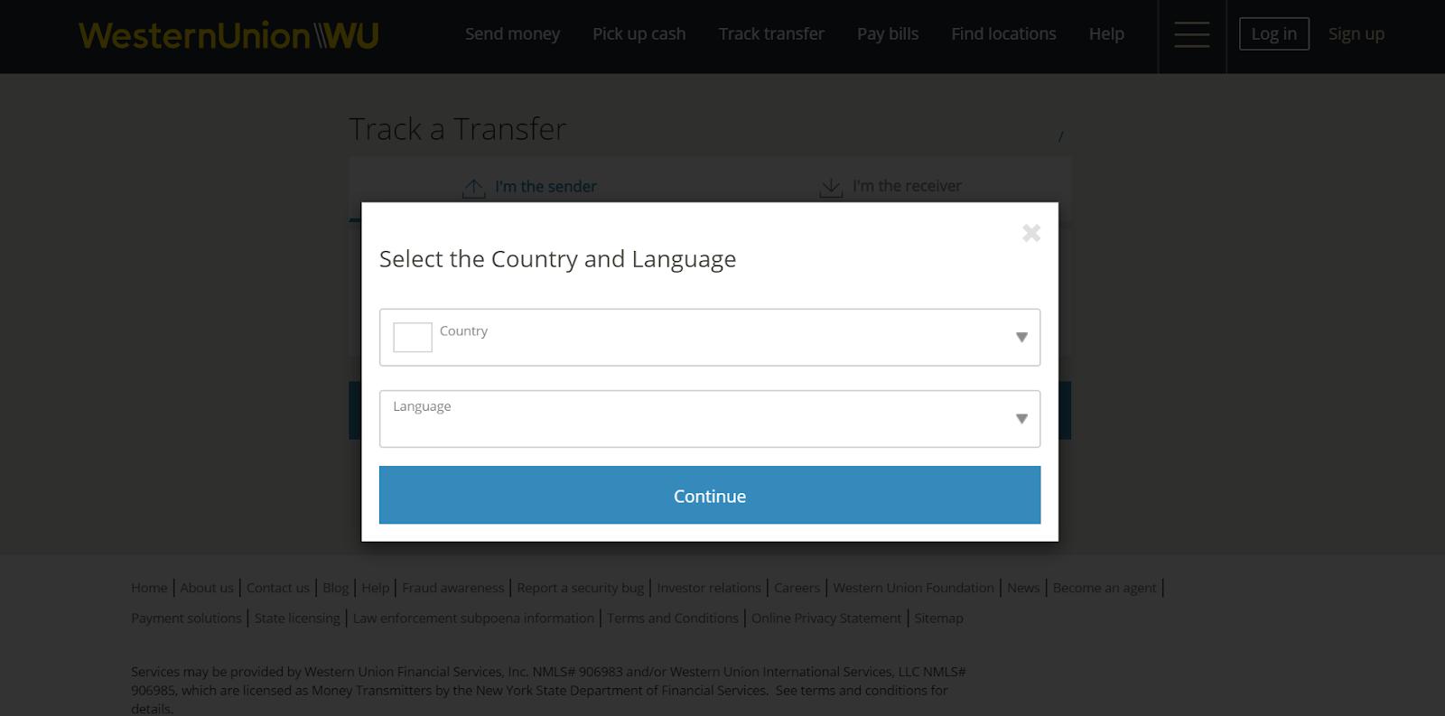 Cara Update Cek Kiriman Western Union Online - WARGA NEGARA INDONESIA