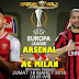Agen Bola Terpercaya - Prediksi Arsenal vs AC Milan 16 Maret 2018