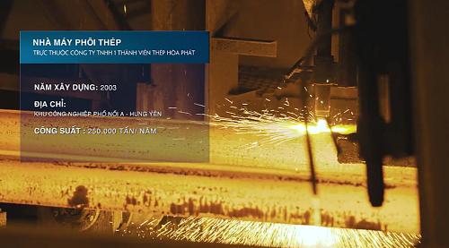 Nhà máy phôi thép Hòa Phát