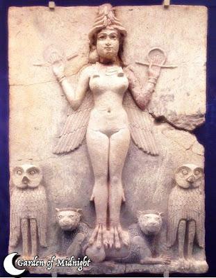 Ereshkigal Darkness Goddess Dea Oscura