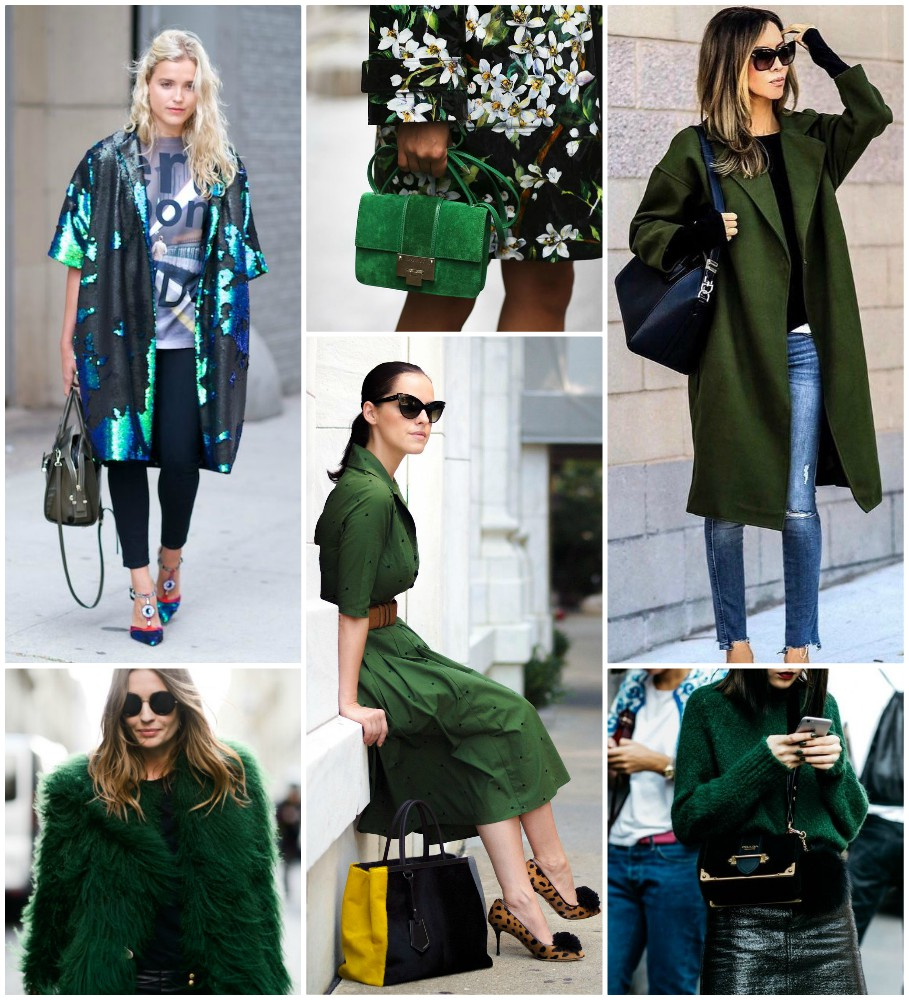 How to Wear: Green Inspiration #1
