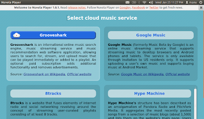 Nuvola Music Player