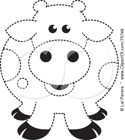 Spotted Cow Coloring Pages Coloring Pages