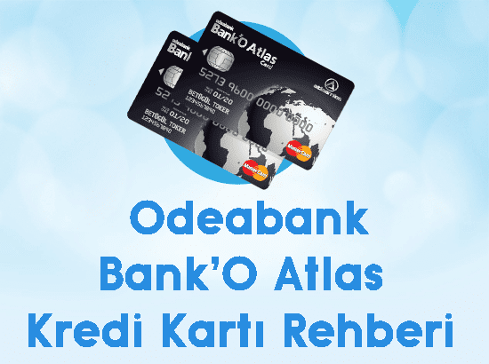 odeabank banko atlas kredi kartı