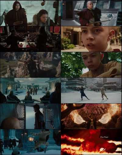 The Last Airbender (2010) Hindi - Tamil - Telugu - Eng Download 400mb