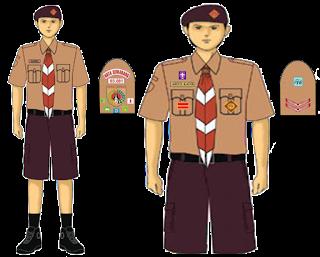 Model Seragam Pramuka Penggalang Putra