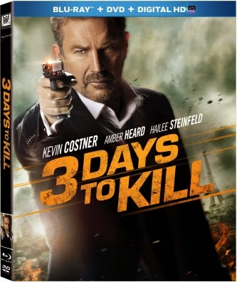 Blu-ray Review - 3 Days To Kill
