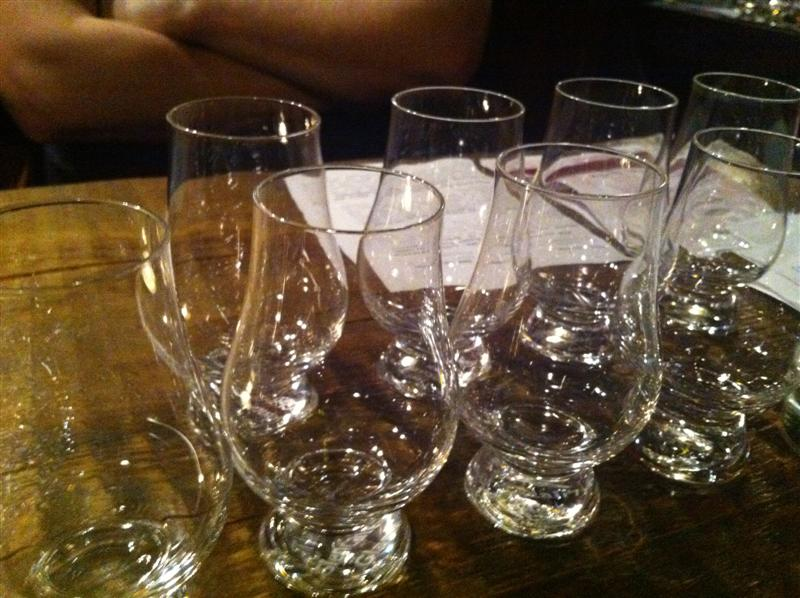 tasting glas whiskey