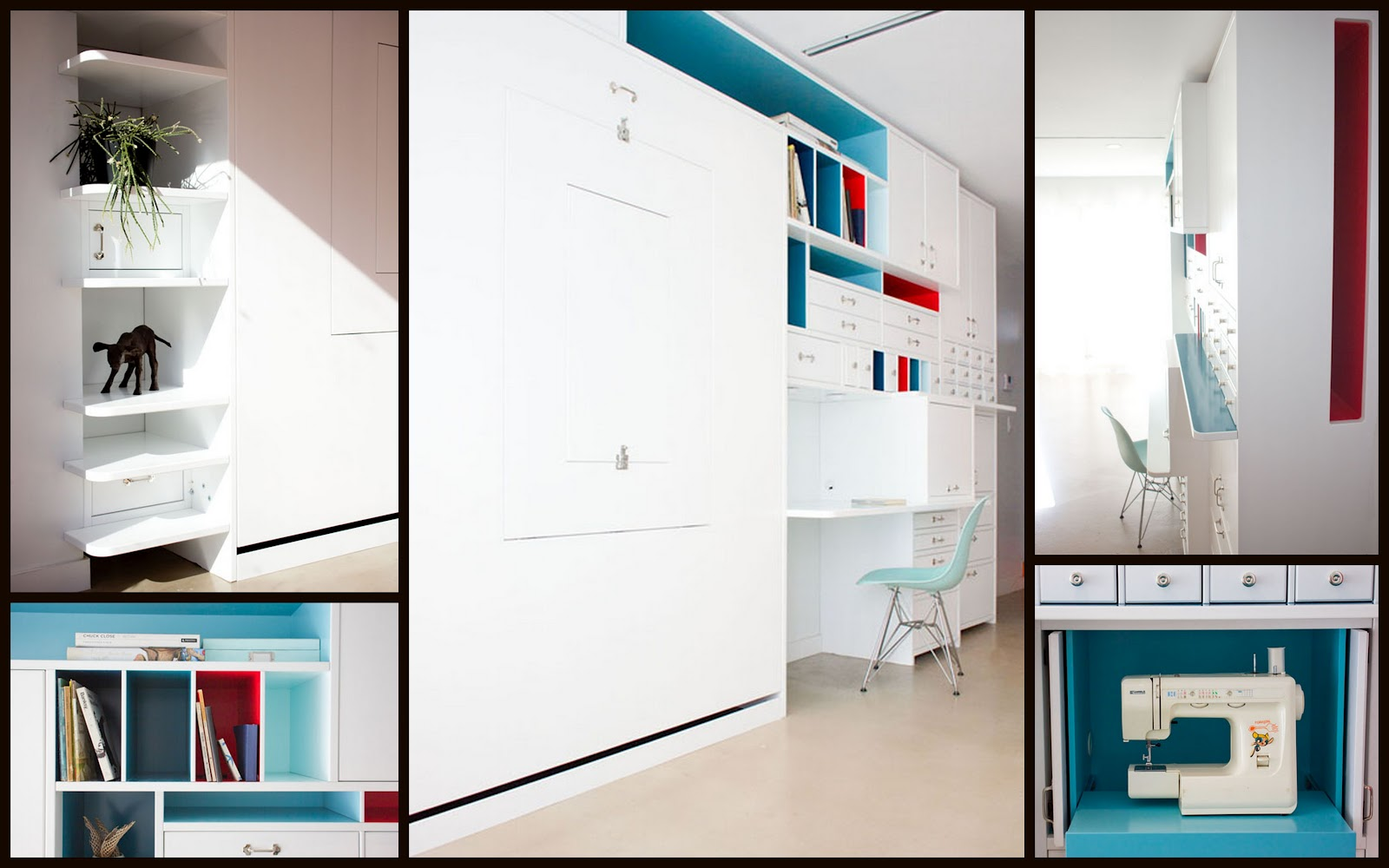 Zoom Room Murphy Bed Nine Red Spotlight Murphy Bed Desk