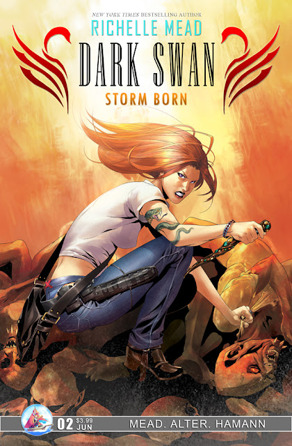 Review - Richelle Mead's Dark Swan: Storm Born, Issue 2 - 5 Qwills