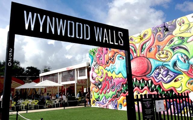 Bairro Wynwood Wall em Miami