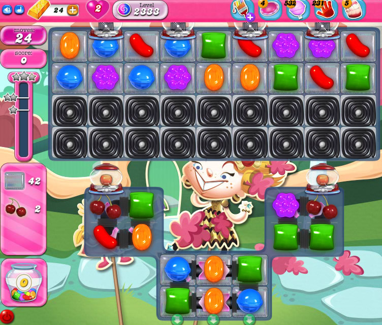 Candy Crush Saga level 2333