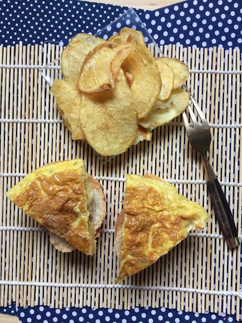 tortilla de patata express receta