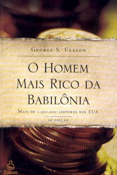 foto livro O homem mais rico da Babilônia de George Clason