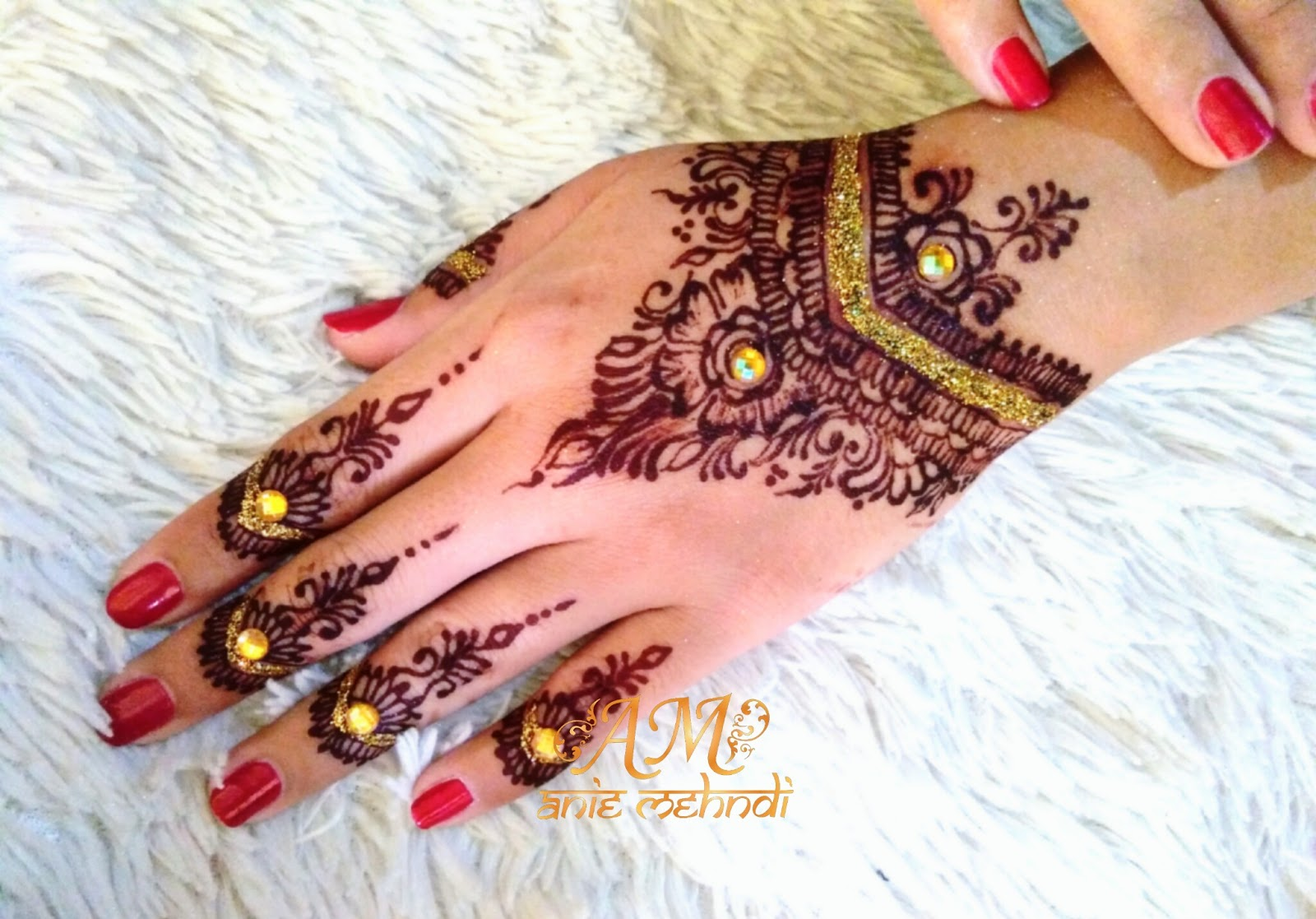 Henna Maroon Simpel Berbagi Ilmu Belajar Bersama