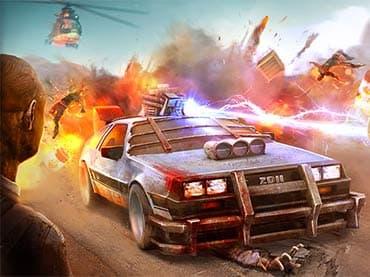 تحميل لعبة Zombie Derby