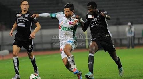 الرجاء الرياضي بهدف وحيد يحقق الفوز علي فريق المغرب التطواني في الدوري المغربي