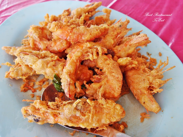 Fried Prawn With Butter
