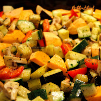 EASY OVEN BAKED VEGGIES
