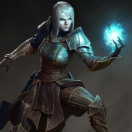 Diablo 3 - Female Necromancer Wallpaper Engine