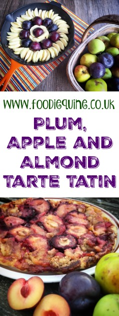 www.foodiequine.co.uk DESSERT A delicious autumnal variation of the classic French Tarte Tatin with Plums, Apples, Marzipan and Ground Almonds. Bon Appetit!