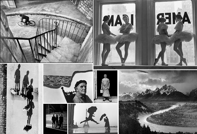 Varias fotografías de fotógrafos clásicos
