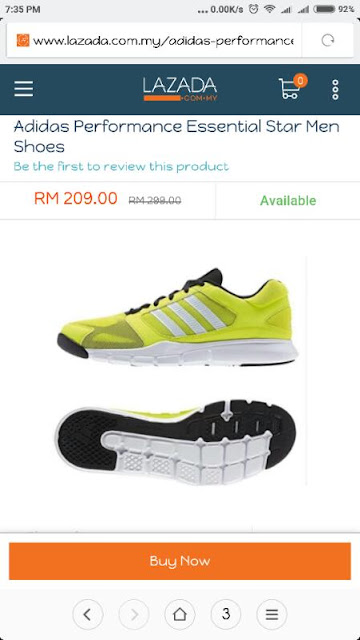 Lazada Men Shoes
