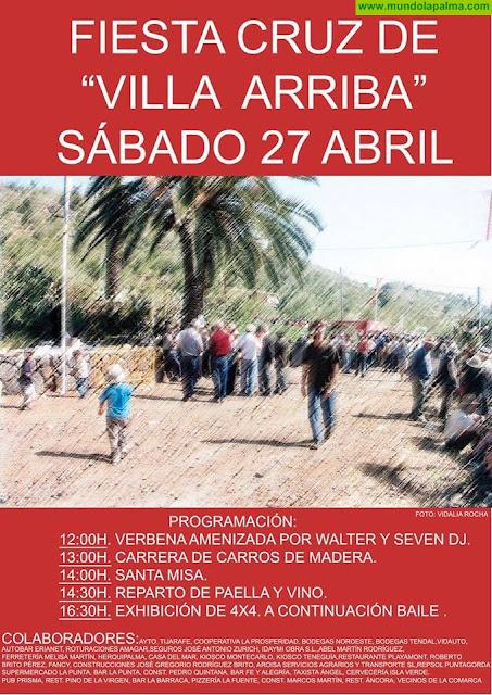 Fiesta Cruz de Villa Arriba en Tijarafe