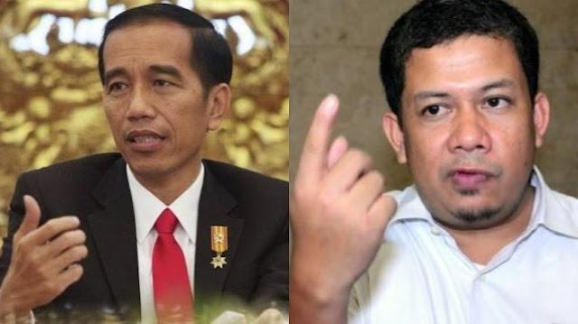 Jokowi Bilang Relawan Tak Takut Bila Diajak Berkelahi, Fahri Hamzah : Lihat Saja 5 Hari ke Depan