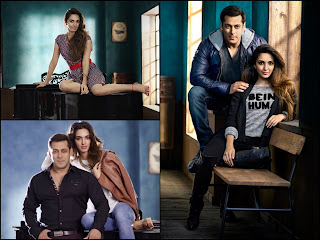 salman khan + kiara advani + being human