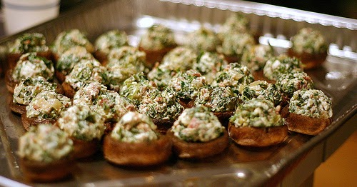 Mouth-Watering Stuffed Mushrooms | all about food and recipes