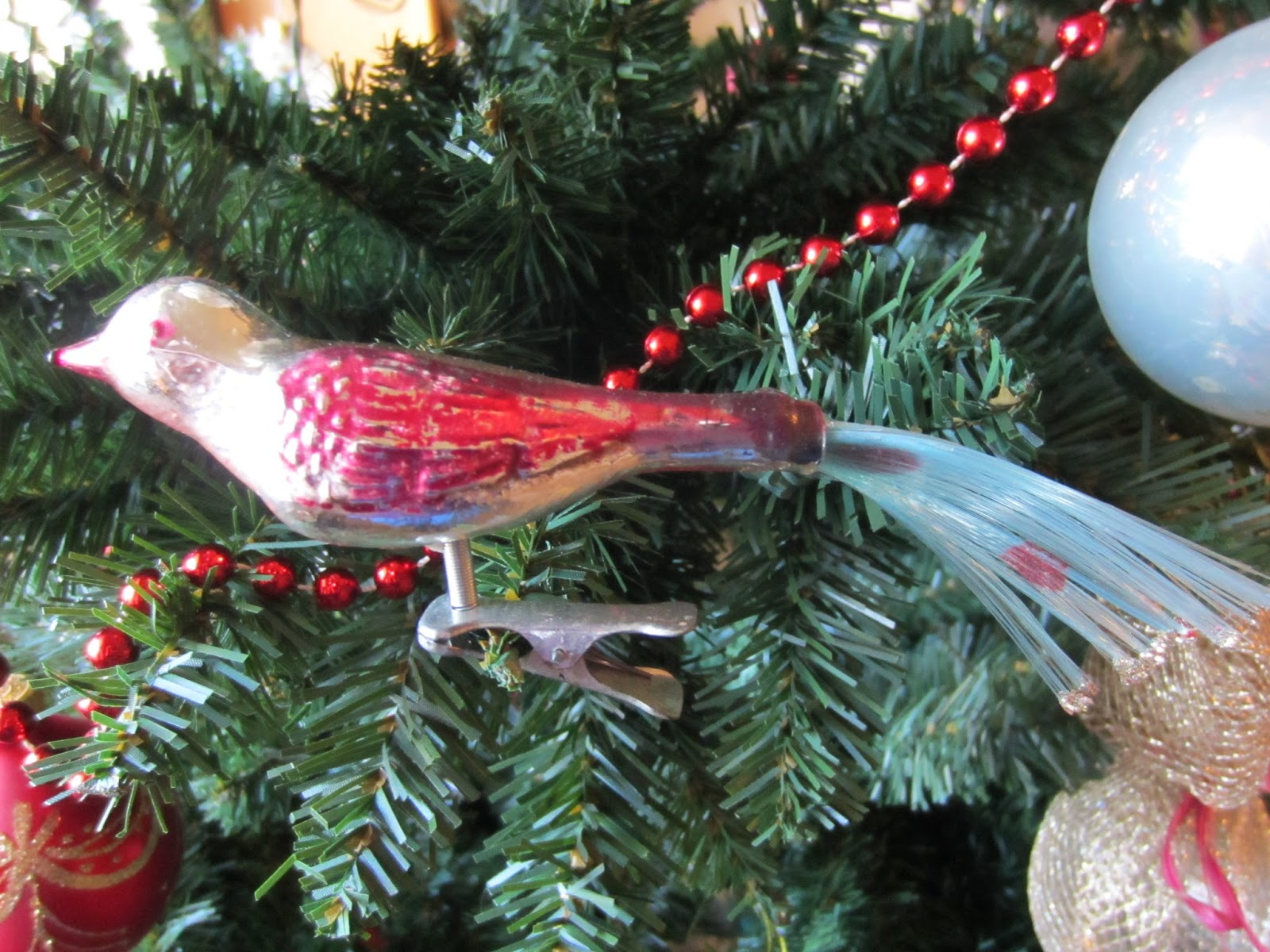 glass bird ornament - Christmas Decorations Target Stores