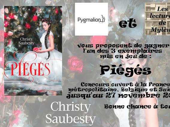[Concours] Piégés de Christy Saubesty - Résultats