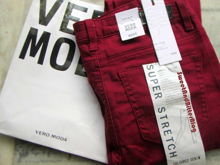 only one shopping bag vero moda to quench oxblood thirst sweet and bitter blog. Black Bedroom Furniture Sets. Home Design Ideas