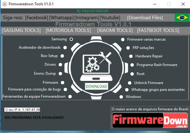 Firmwaredown Tools V1.0.1
